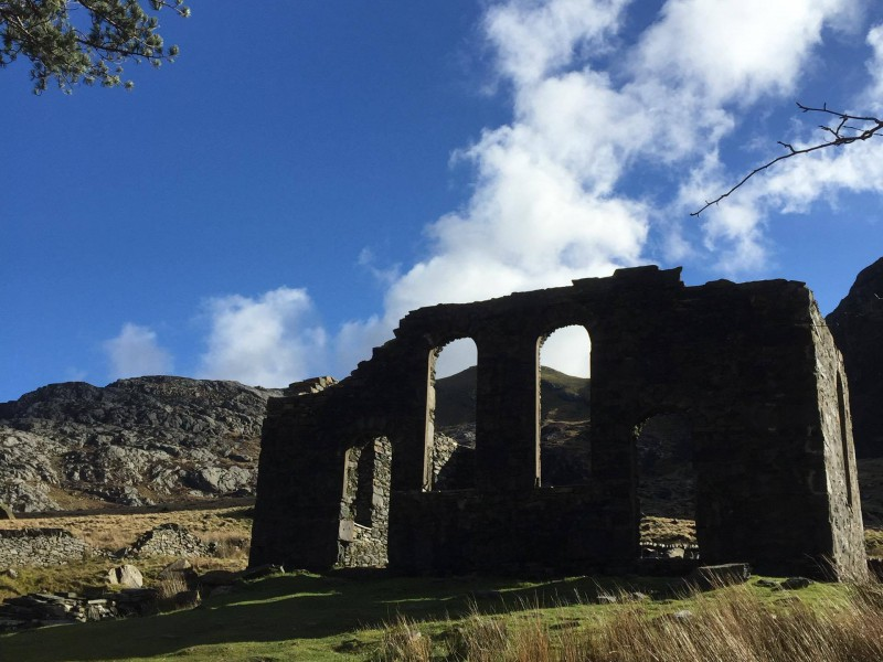 Ruins in Wales